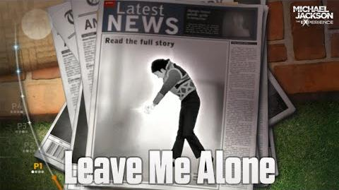Michael Jackson The Experience - Leave Me Alone
