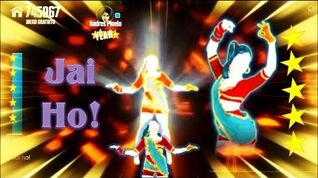 Just Dance Now - JAI HO! - 5 * Stars