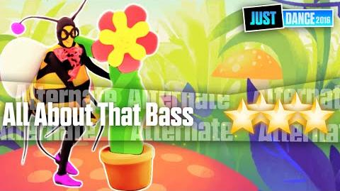 All About That Bass (Flower & Bee Version) - Just Dance 2016