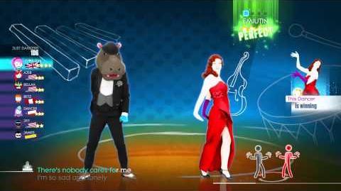 JustDance 2014 - World Dance Floor - Just A Gigolo Hippo - Rank 1 - 1080p HD - Wii U