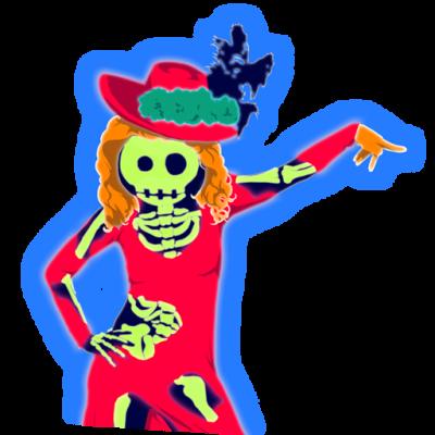 halloweenquat coach 12xpng - Just Dance 3 Halloween