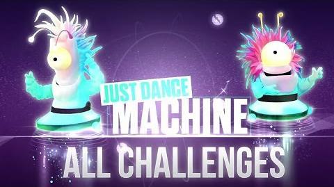 Just Dance 2017 Just Dance Machine (All Challenges)