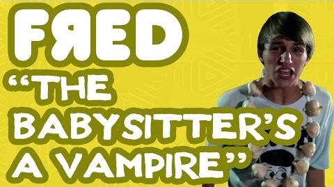 """The Babysitter's a Vampire"" Music Video - Fred Figglehorn"