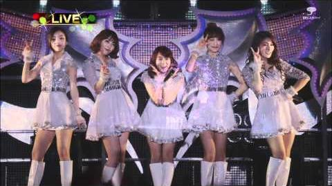 2011 1224 KARA - ④ Jet Coaster Love (ジェットコースタ ラブ) @Lawson Music for All