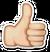 Thumbs-emoji