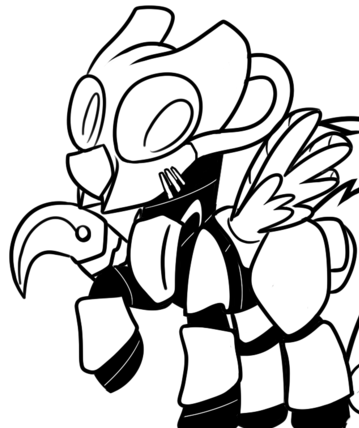 File:FANMADE Pony in advaced power armor.png