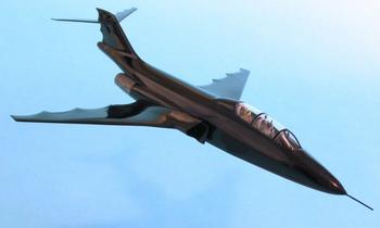 Batplane in Knight of Gotham