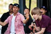 Justin performing at Easter Egg Roll, April 2010