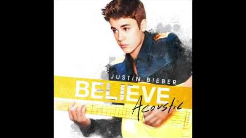 Justin Bieber - Take You (Acoustic) (Audio)