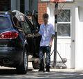 Selena Gomez leaves Justin Bieber's grandparents' house 8