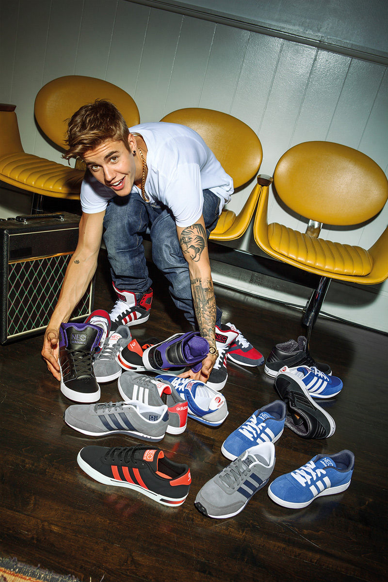 justin bieber adidas neo shoes