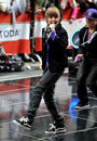 Justin Bieber Performs on The Today Show, 2009
