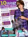 BOP January 2010 10 things you didn't know about Justin Bieber