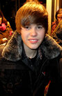 Justin Bieber outside of Live@Much