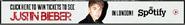 Spotify Justin Bieber contest 2011