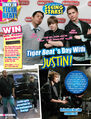 Tiger Beat July 2010 Tiger Beat's day with Justin