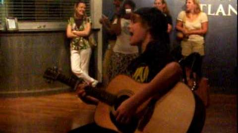 Justin bieber one time acoustic