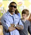 Usher and Justin at the KCA's 2009