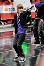 Justin Bieber Performs on Today 12 October 2009