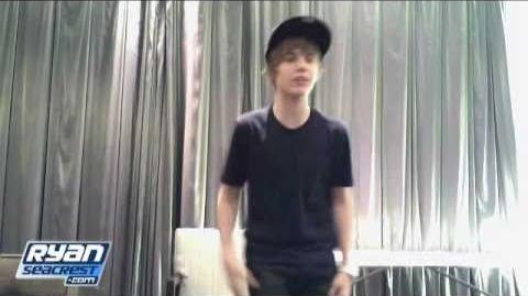 "Green Room Concert Series Justin Bieber ""One Time"" Performance On Air With Ryan Seacrest"