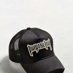 £25|€32<br /><br />Perfect trucker hat from Justin Bieber's 2016 Purpose Tour. Front cotton twill panel features an embroidered metal-inspired Purpose Tour text graphic. Breathable mesh back is complete with an adjustable snapback closure for the perfect fit. Exclusively available at Urban Outfitters.