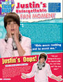 Tiger Beat May 2010 Justin's unforgettable fan moment