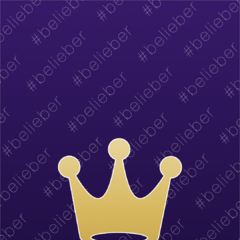 Belieber gold wallpaper in Fahlo's store for 40.000 coins