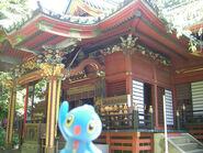 Manaphy in Oji, Tokyo 35 (Oji Inari Shrine)
