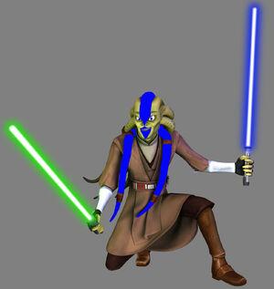Pryce Fisto two sabers