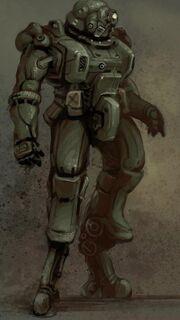 Heavy power suit mod legs