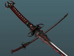 DaeNodachi Emwyn's blades