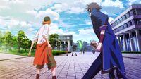 Fushimi and Yata are attacked by Sukuna