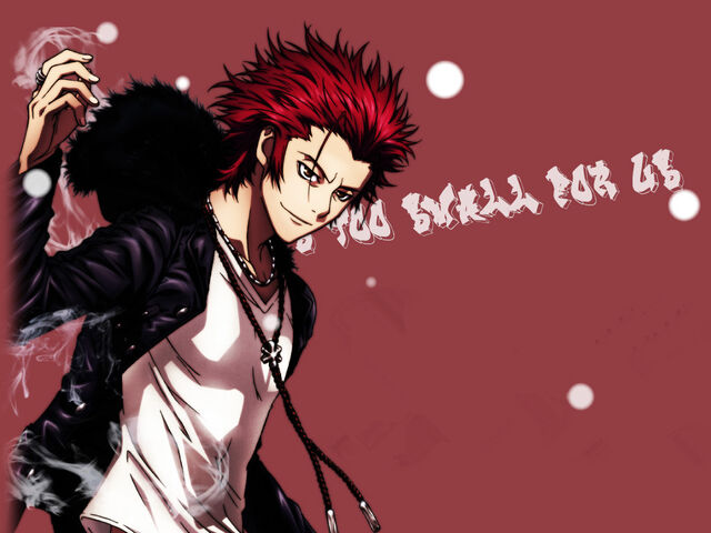 File:Mikoto Suoh (official artwork wallpaper).jpg