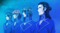 Tatsuya and the others arrive to aid their king