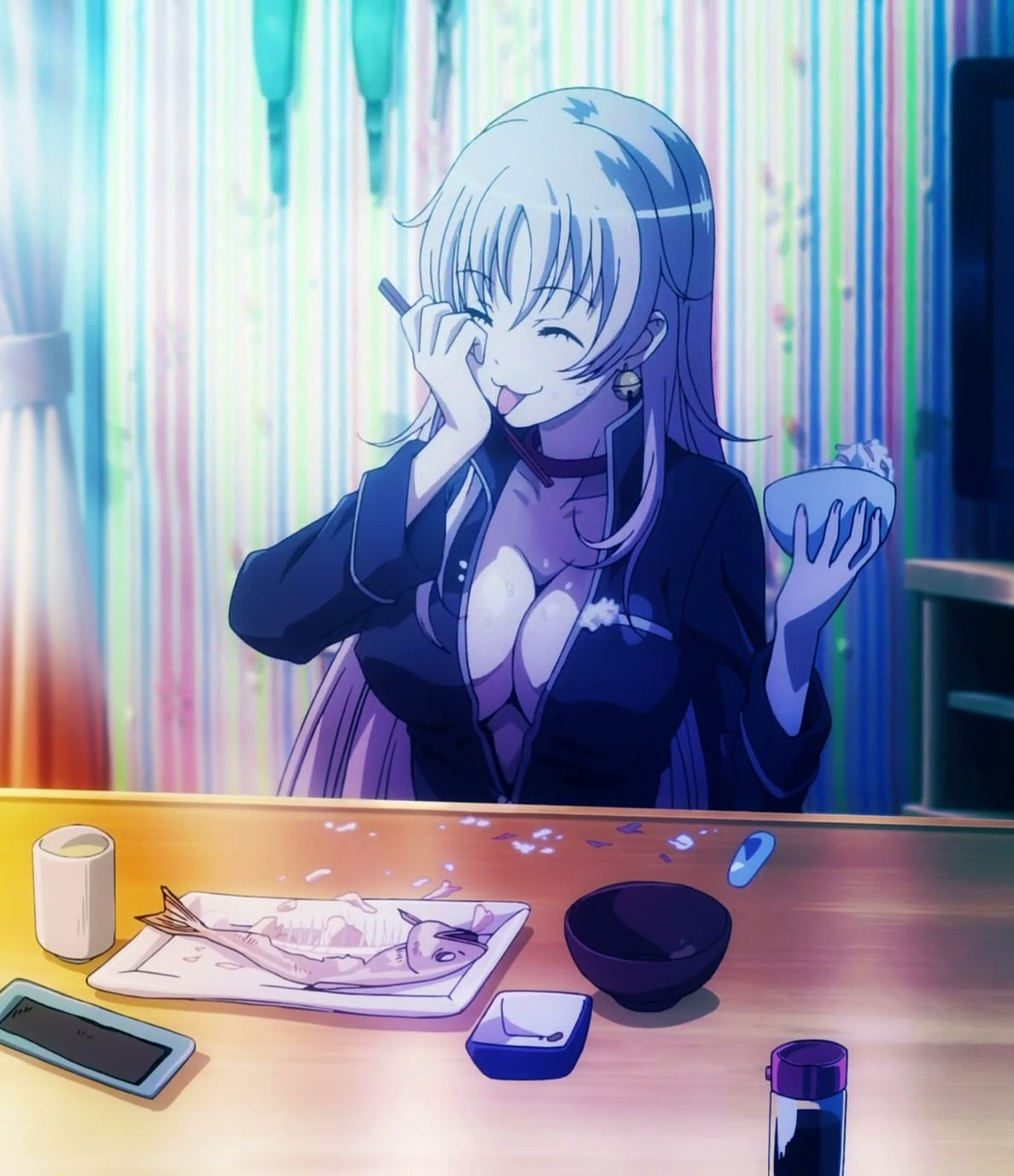 K Anime Characters Neko : Image neko eating k project wiki fandom powered