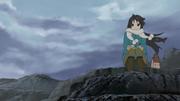 Mio at the seashore