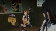 Yui can't handle heat