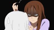 Sawako's death glare