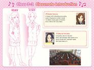 Haruna and Natsuka Classmate Introduction