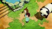 Nodoka and Yui in kindergarten
