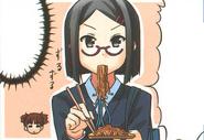 Nao eating