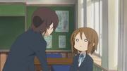 Nodoka scolding Yui