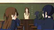 Eri and Akane talking about Sawako