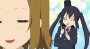 Ritsu notices