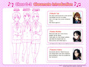 Tae, Michiko and Hideko Classmate Introduction