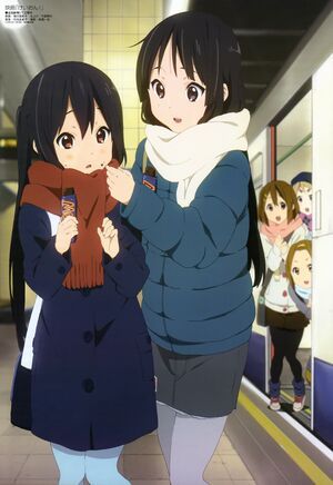 Azusa and Mio