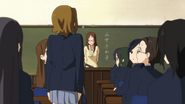 Ritsu's first day in class
