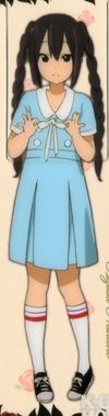 Azusa Singing attire 1