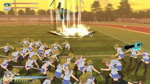 PS4 60FPS『閃乱カグラ ESTIVAL VERSUS -少女達の選択-』Minori gameplay(All Ninpos)