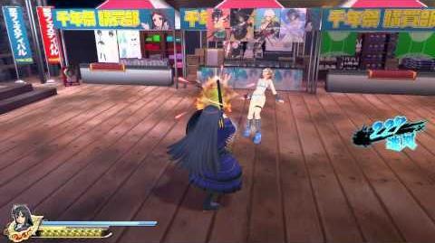 PS4 60FPS『閃乱カグラ ESTIVAL VERSUS -少女達の選択-』Ryoki gameplay(All Ninpos)-0